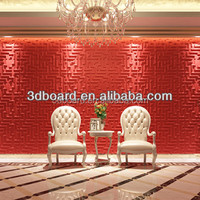 Hot products new plastic wall panels interior decorative upholstered wall panel