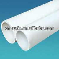 widely used strongly municipal pvc drainage pipe(various size)