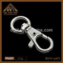 Fashion metal snap hook/ bag snap hook/alloy snap hook for parts&metal fitting