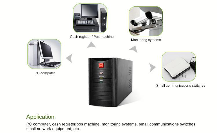 UPS backup power supplier 500va/600va/6500va manufacturer direct sale