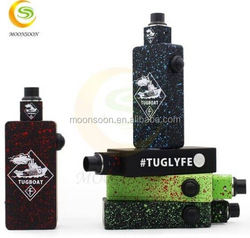 2015 Latest technology box mod wholesale china supplier Tugboat Box Mod clone 1.5v dry cell battery