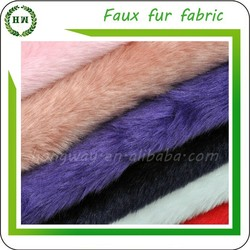 Hongway Ready Goods, Polyester Faux/ Artificial For Animal Fabric Fur Clothing Fur, Fake Rabbit/ Fox Fur