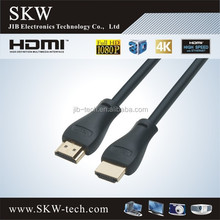 HDMI cable with gold plated high speed support 2.0v 1.4vv