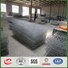 Heavy galvanized zinc coating gabion box wire fencing for sale