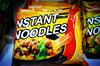 vegetable thai instant 75 noodle soup / HACCP HALAL OEM ramen factory / beef vegetalbe noodles