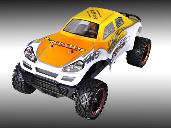 YAMA Raport 1/5 Scale 26CC/30CC Gas Powerfull Engine 2WD Shaft-Driven 2.4Ghz Radio System RC CAR