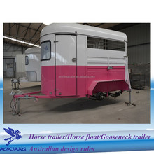 horse van with brake system for 2-horse load manufacture
