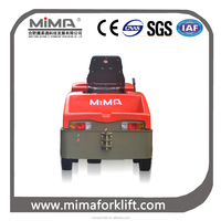 MIMA electric tow tractor with AC drive motor
