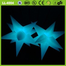 2015 popular product decoration inflatable led star