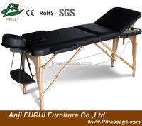 3 section massage table wooden massage bed bestsell massage table