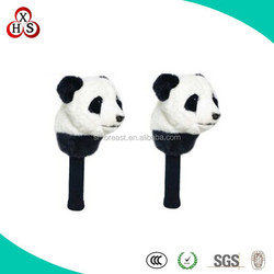 Soft Wholesale Stuffed Golf head cover/Animal shape golf club cover