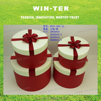 WT-PBX-1612-1 Holidays gifts packaging round tube gift box