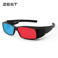 ZEST Red Blue Cyan 3D glasses for 3D Movies Books Film TV
