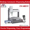 Industrial precision automatic epoxy dispensing machine ZM-400ED ab desktop glue dispensing machine