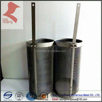 platinum coated titanium anodes basket for electroplating and swimming pool
