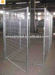 new style galvanized large dog fence