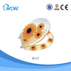Sanitary chinese poly resin slowly down transparent wc toilet seat