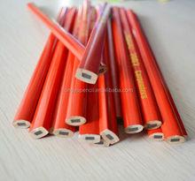 "7"" carpenter pencil with logo printed"
