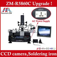 Factory price ! BGA Reballing machine Zhuomao ZM R5860C BGA Rework system for studio 1558 laptop motherboard ps4 console repair
