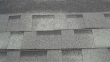 Asphalt shingle---double-deck