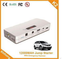 capacity 12000MAH Start current 400A 12v engine vehicle emergency starting power supply for Automotive