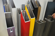 beautiful powder coating aluminum extrusion profiles from China supplier