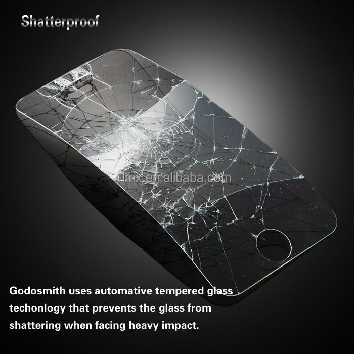 0.22mm / 0.33 mm / 0.4 mm 9H Hardness Tempered glass screen protector for iPhone 5s