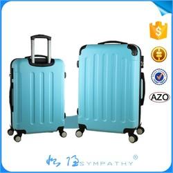 lightweight Matte Finish Soft Surface ABS Trolley Luggage Set/trolley suitcase /trolley luggage