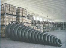 Butyle tube interne utilisé sur les pneus michelin 12.00r24 qualité