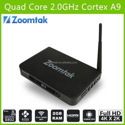 2014 Best Selling Tv Box Android hHd Sex Pron Video Amlogic S802 Quad Core Android Box 4K 2K Ott TV Box