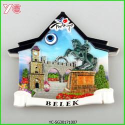 YC-SG-30171007 Turkish Souvenir Resin Magnet For Fridge