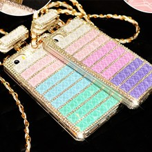 new 2015 hot rhinestone mobile phone cover for iphone 6 perfume bottle phone case, bling phone casing for iphone 6 4.7