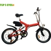 TOP E-cycle 250w small folding electric bicycle from China