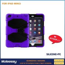 Heavy Duty for ipad mini crystal case