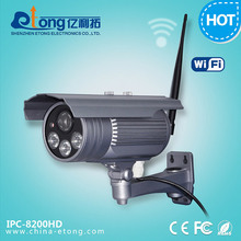 LED Array 40m Night Vision Outdoor Wireless Full HD IP Camera 1080P