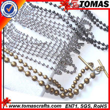 Guangzhou Wholesale bar metal ball chains