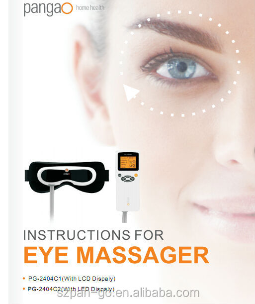 Pangao vibrating eyes massage tool with CE approval