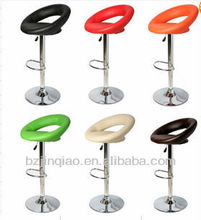 A variety of colors of PU bar stools