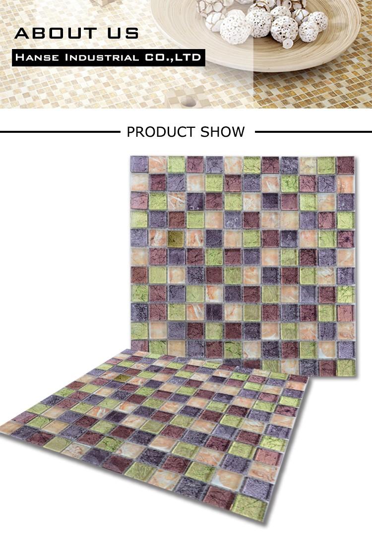 HT244 marroquí mosaico para cocina/púrpura backsplash azulejos de ...