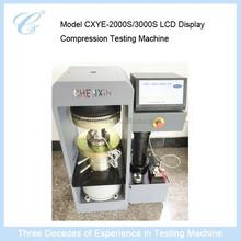 Mode CXYAW-2000S/3000 Computer Controlled Electro-hydraulic Servo Compression Testing Machine
