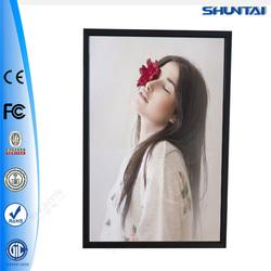 Wall mount ultrathin aluminum picture acrylic LED light frame