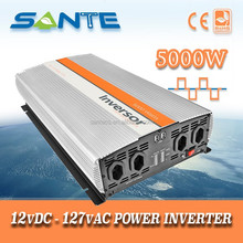 DC to AC off grid solar inverter 5000W, 5kw converter, dc to ac transformer