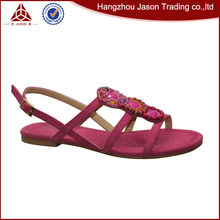Low price guaranteed quality ladies sandal shoes
