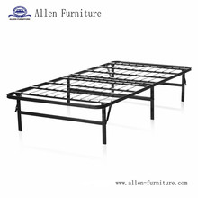 Foldable Metal Platform Bed Frame and Mattress Foundation - Twin