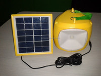 new designed inflatable portable solar LED emergency camping PVC water proof bag lantern SN-SLY616
