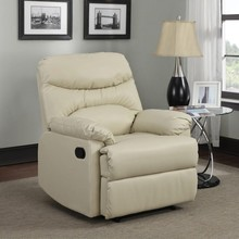 White America style sodern synthetic leather single sofa furniture, recliner chair ZOY-91490-51