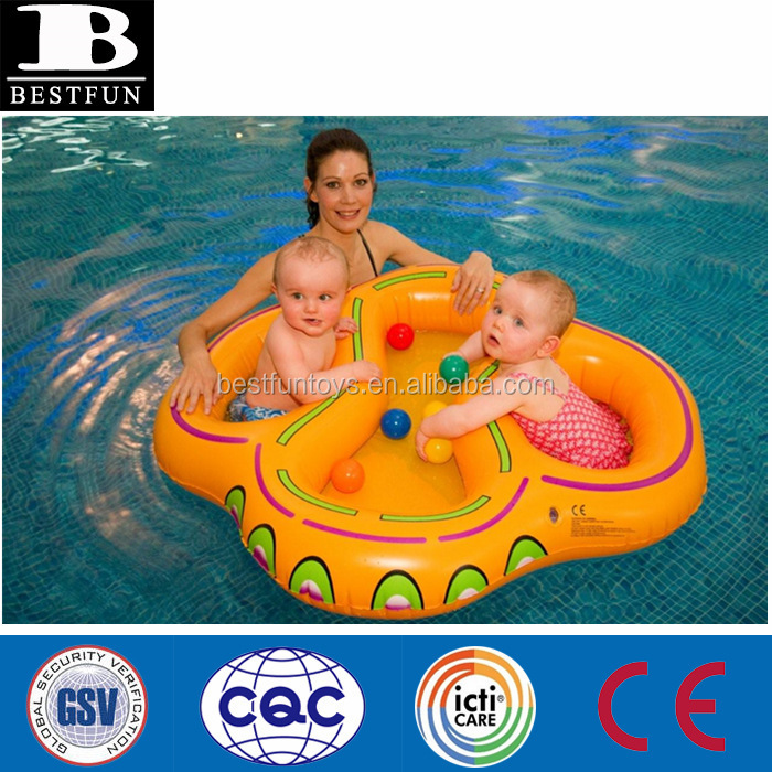 Custom New Design Vinyl Inflatable Twin Floats Twin Baby Boat Seats ...