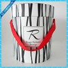 Round paper cardboard gift box