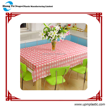 Solid PE table cloth