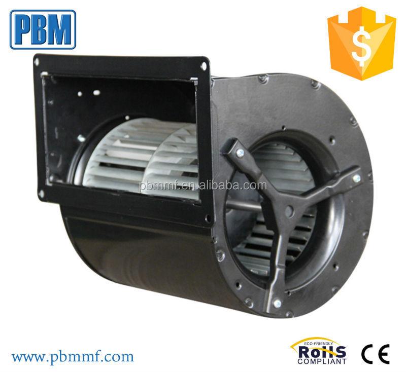 146mm Ec Ac Dual Inlet Input Blower Fan With 92 Motor